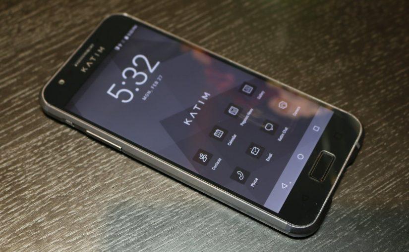 شرکت اماراتی DarkMatter از موبایل امنیتی خود رونمایی کرد