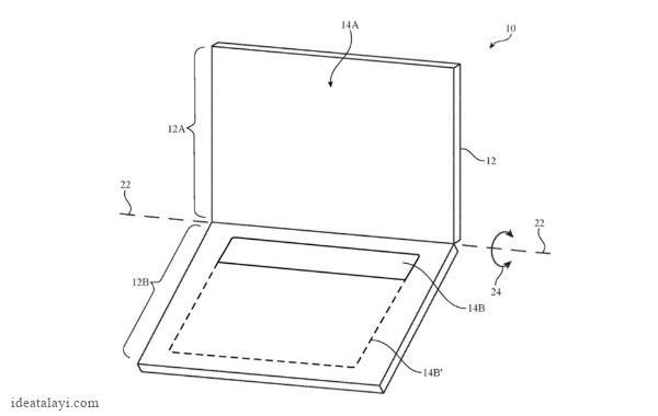 پتنت جدید اپل حذف کیبورد فیزیکی مک بوک را نشان می دهد