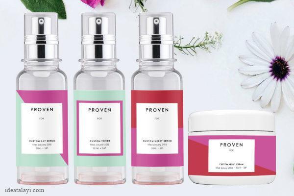 استارتاپ Proven با کمک هوش مصنوعی کرم اختصاصی پوست شما را تولید می کند