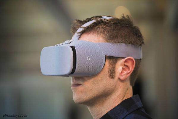 گوگل و ال جی هدست واقعیت مجازی با رزولوشن بسیار بالا می سازند