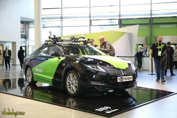 خودروی بدون راننده انویدیا
