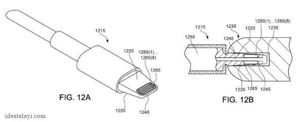 ایده های عملی نشده اپل برای ضد آب کردن درگاه لایتنینگ