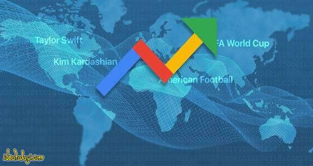 آموزش گوگل ترندز ؛ کدام کلمات بیشتر در گوگل جستجو شدهاند؟