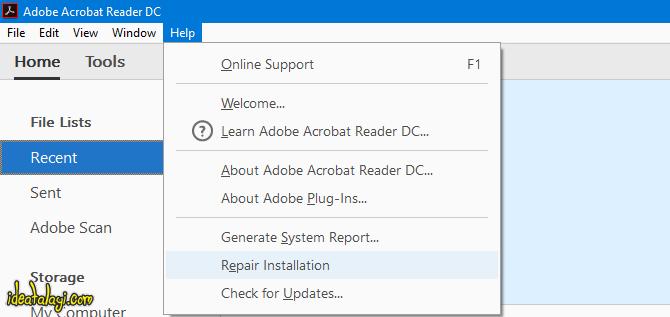 بازیابی فایل PDF