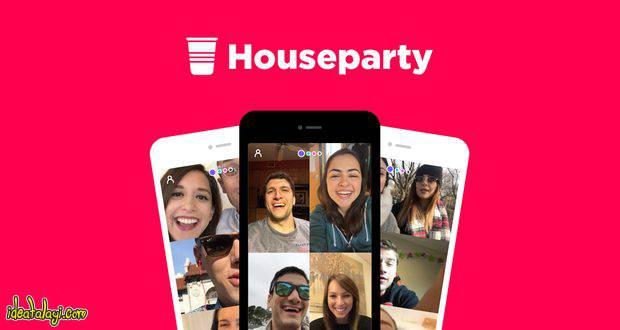 اپلیکیشن Houseparty